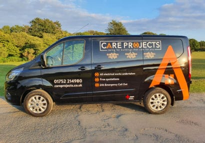 Care Projects van